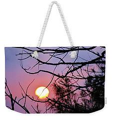 Birds At Sunset Weekender Tote Bag by Craig Wood
