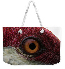 Weekender Tote Bag featuring the photograph Birds Eye by Brian Jones