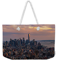 Birds Eye View  Weekender Tote Bag by Anthony Fields