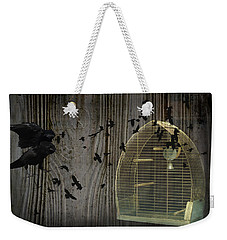 Birds Gone Wild Weekender Tote Bag by Suzanne Powers