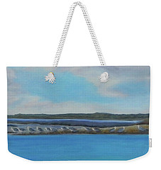 Birds Of Crescent Beach Weekender Tote Bag