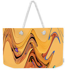 Birds Of Paradise Improvisation Weekender Tote Bag
