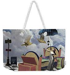 Birds Of Paradise Weekender Tote Bag