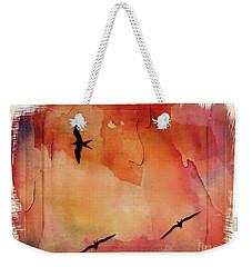 Birds Of Pedasi, In The Dry Arc Of Panama II Weekender Tote Bag