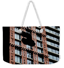 Weekender Tote Bag featuring the photograph Birds Of Soul  by Empty Wall