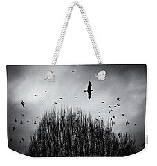 Birds Over Bush Weekender Tote Bag by Peter v Quenter