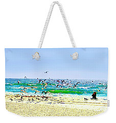 Birds Taking Off Weekender Tote Bag