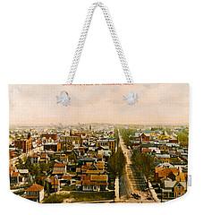 Birdseye View Of Holland Michigan Weekender Tote Bag
