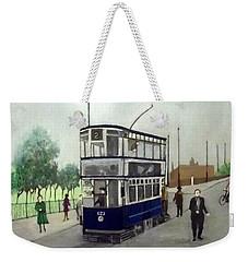 Birmingham Tram With Figures Weekender Tote Bag
