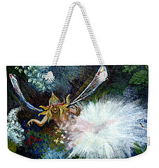 Birth Of A Fairy Weekender Tote Bag by Seth Weaver