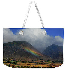 Birth Of A Rainbow Weekender Tote Bag
