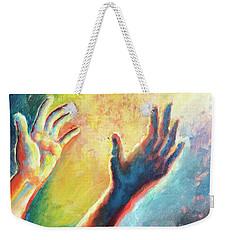 Birth Of Adam Weekender Tote Bag