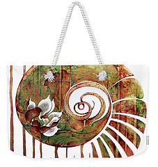 Birth Of Lotus Land Weekender Tote Bag
