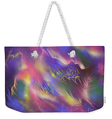 Weekender Tote Bag featuring the digital art Birth Of The Phoenix by Amyla Silverflame