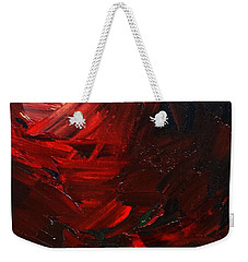 Weekender Tote Bag featuring the painting Birth by Sheila Mcdonald