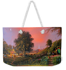 Birthday Party In The Shires Weekender Tote Bag