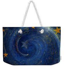 Birthed In Stars Weekender Tote Bag