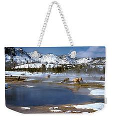 Biscuit Basin Elk Herd Weekender Tote Bag