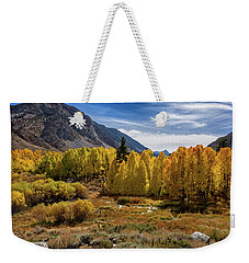 Bishop Creek Aspen Weekender Tote Bag