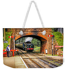Bishops Lydeard Station, Uk Weekender Tote Bag