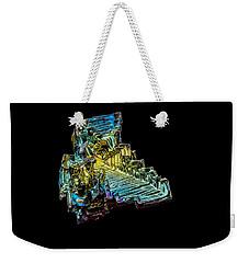 Bismuth Crystal Weekender Tote Bag