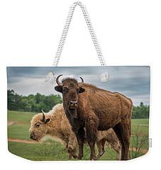Bison 10 Weekender Tote Bag