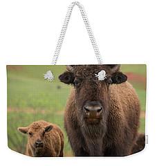 Bison 4 Weekender Tote Bag
