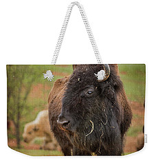 Bison 5 Weekender Tote Bag