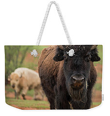 Bison 6 Weekender Tote Bag