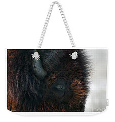 Bison Bull's Eye Weekender Tote Bag
