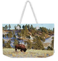 Bison In Custer State Park Weekender Tote Bag