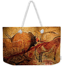 Bisons Horses And Other Animals Closer Weekender Tote Bag
