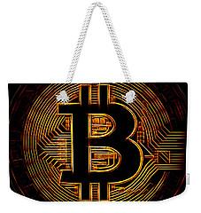 Bitcoin Weekender Tote Bag