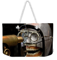 Bite The Bullet - Steampunk Weekender Tote Bag