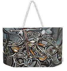Bits And Pieces Weekender Tote Bag