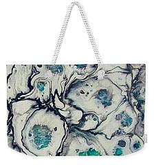 Bits Of Blu Weekender Tote Bag