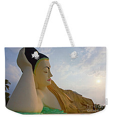 Weekender Tote Bag featuring the photograph Biurma_d1836 by Craig Lovell