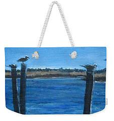 Bivalve Seagulls Weekender Tote Bag