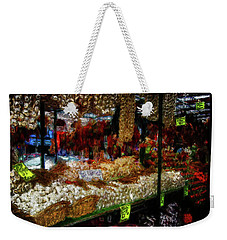 Biward Market Garlic Weekender Tote Bag