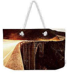 Bixby Creek Bridge, California Weekender Tote Bag