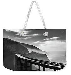 Weekender Tote Bag featuring the photograph Bixby Creek Bridge,big Sur by Jingjits Photography