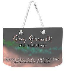Biz Card Weekender Tote Bag