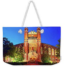 Bizzell Lights Weekender Tote Bag