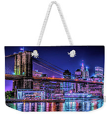 Weekender Tote Bag featuring the photograph Bk Glow by Theodore Jones