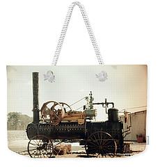 Black And Glorious Steam Machine Weekender Tote Bag
