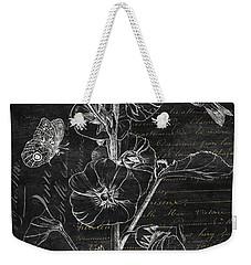 Black And Gold Hummingbirds 1 Weekender Tote Bag