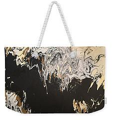 Black And Gold Weekender Tote Bag