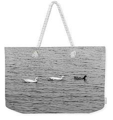 Black And White 11 Weekender Tote Bag
