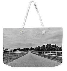 Black And White 134 Weekender Tote Bag