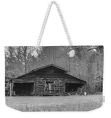 Black And White 17 Weekender Tote Bag